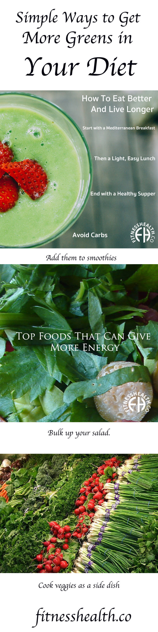 Simple Ways to Get More Greens in Your Diet