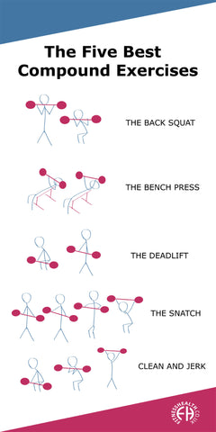 The Five Best Compound Exercises By Rene Harwood