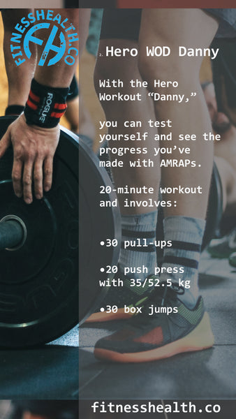 HERO Danny Crossfit Workout