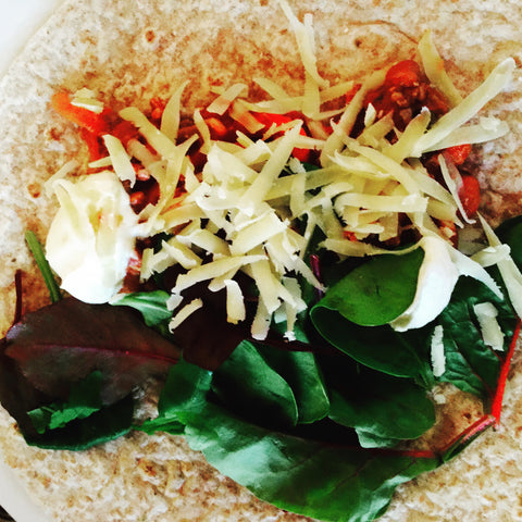 Protein Turkey Wrap