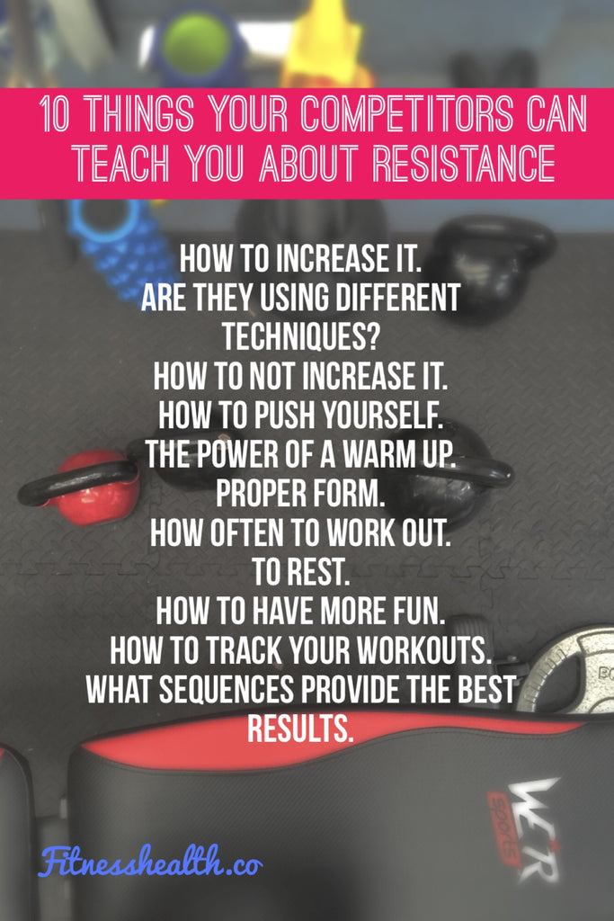 10 Things Your Competitors Can Teach You About Resistance