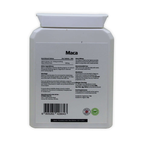 Maca Root 500mg