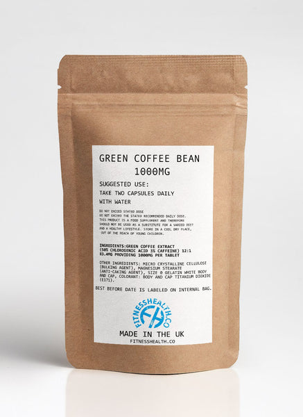 Green Coffee Bean Extract 1000mg, Diet Pills Fat Burner, Natural Weight Loss