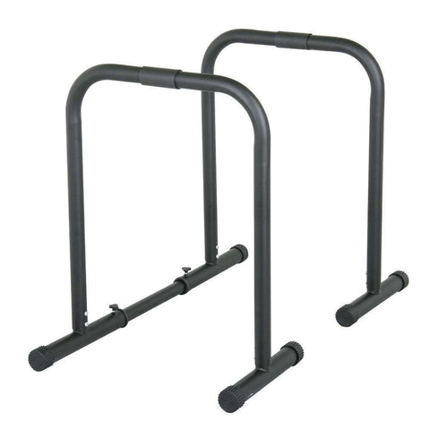 Fitness Parallette Dip Bars (Pair) parallel
