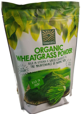 Organic Wheatgrass Powder Terrafertil