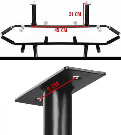 Ceiling mounted Pull Up Kit