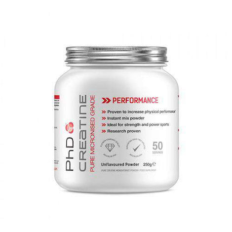 PhD Creatine Monohydrate Powder 250g - Fitness Health