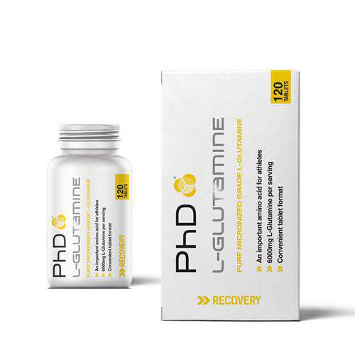 PhD Nutrition L Glutamine 120 Caps - Fitness Health
