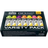SIS Go Isotonic Energy Gel Variety - Pack of 7 x 60ml