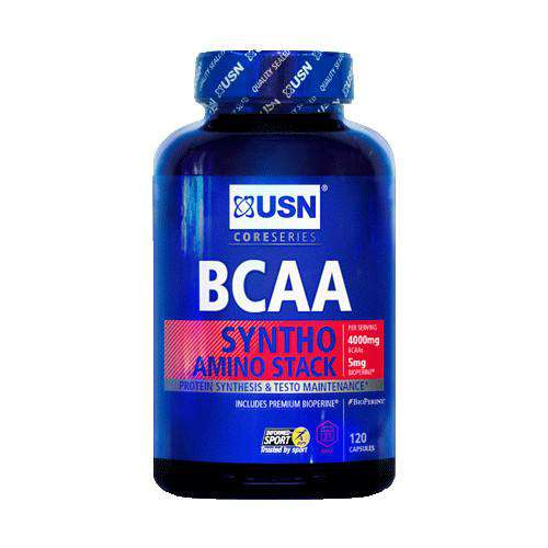 USN BCAA Branch Chain Amino Acids 120 caps - Fitness Health