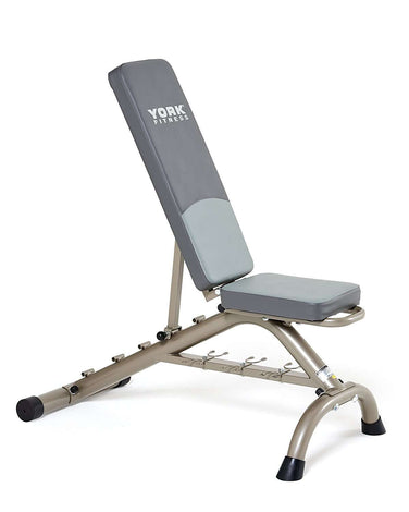 York Fitness 5 Seat Position Bench