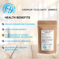 Chromium Picolinate 1000mcg 60 Tablets Vegan
