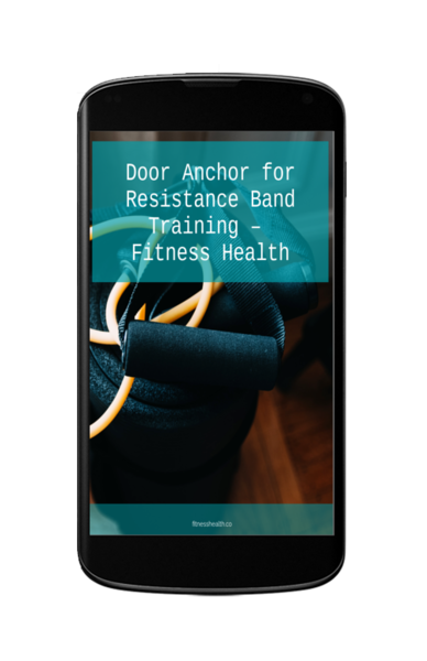 Free Resistance Band Door Anchor Training Guide Ebook Pdf