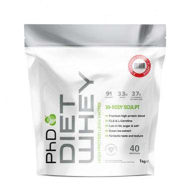PhD Diet Whey Protein Meal Replacement Powder 1 kg