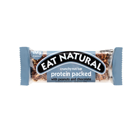 Eat Natural Protein Packed Snack with Peanuts and Chocolate