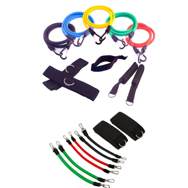 FH Gym in a Bag Resistance Kinetic Exercise Band Set 20 pcs