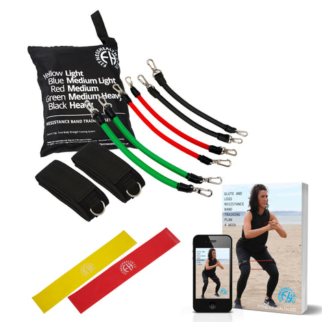 Resistance Band Leg and Glute Training Set