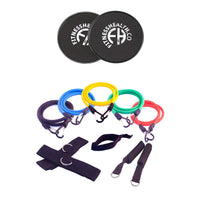 Home Gym Resistance Exercises Fitness Band Set Equipment