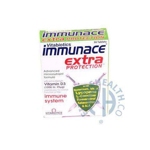 Immunace Extra Protection Vitabiotics - Fitness Health
