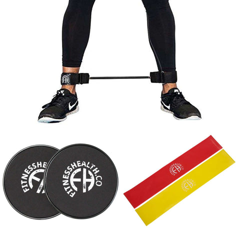 FH Leg Lateral Resistance Band Gilder Set