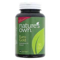 Natures Own Gold Multivitamins & minerals x 90 Vegan Tablets