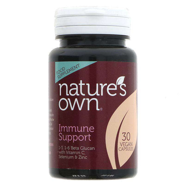 natures own immune support 30 vegan capsules