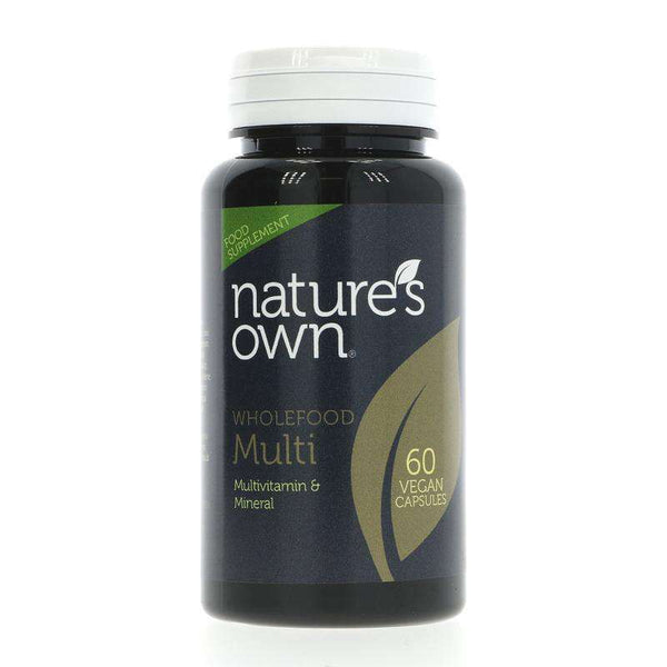 natures own wholefood multi vitamins minerals