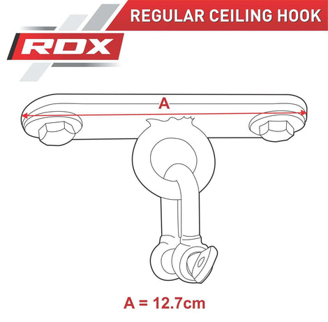 X1 CEILING HOOK WITH D SHACKLE RDX