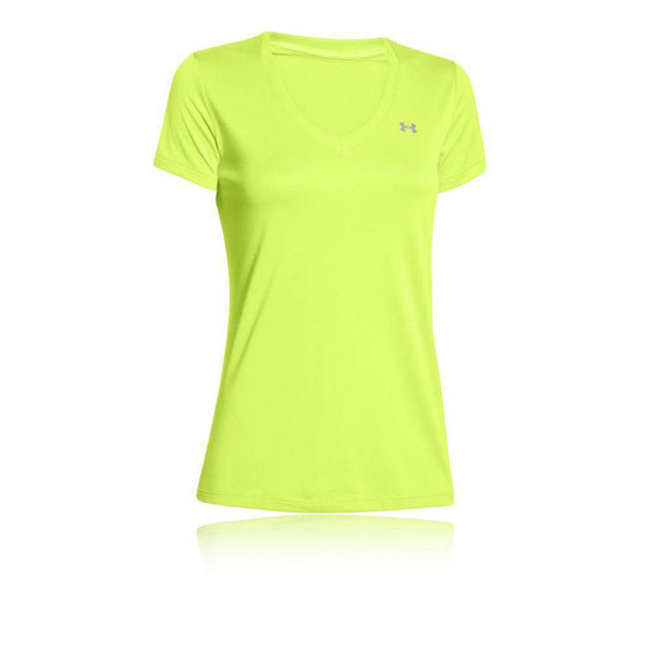 Under Armour Womens Short T Neon - Fitness Health