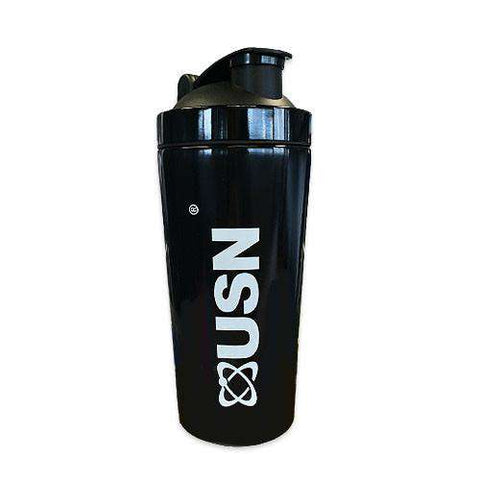 USN Stainless Steel Shaker Black - Fitness Health