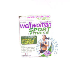 Wellwoman Sport & Fitness VItabiotics Supplement
