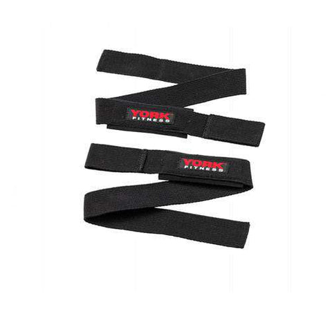 York Fitness Weight Training Lifting Straps
