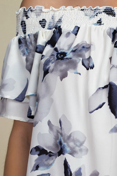 ivory-white-floral-print-off-shoulder-ti