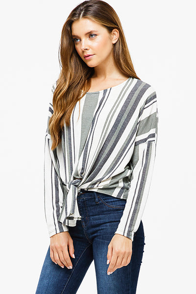 olive-green-striped-long-sleeve-round-ne