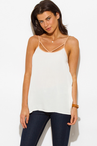 Strappy Tank Blouse