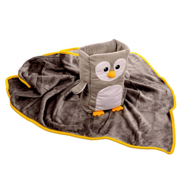 Armrest Buddy - Kids' Travel Pillow & Blanket Set