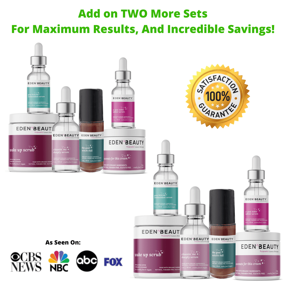 2 More Extra Strength Sets - Private Discount Eden Beauty