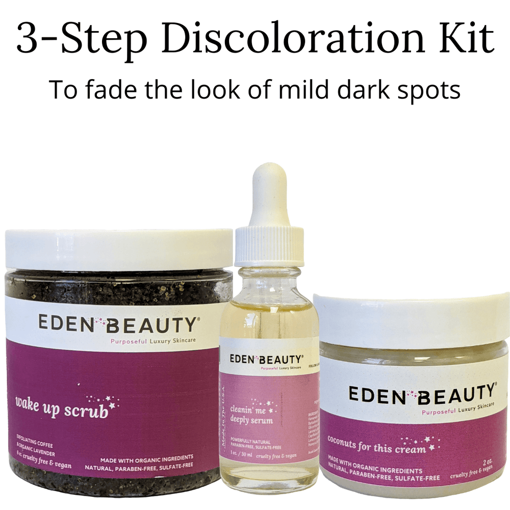 3 Step Discoloration System