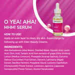 o yea! AHA! mhm! serum Eden Beauty