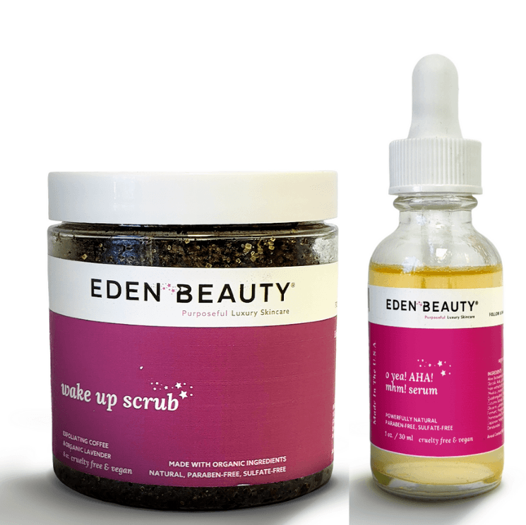Wake Up Scrub + AHA Bundle (Customers Only)
