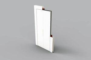 2 Doors - Fold to Left