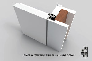 Pivot Outswing Pull left