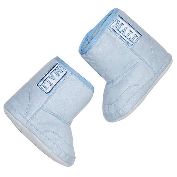 Blue Personalised Baby Boot – Junior Co.