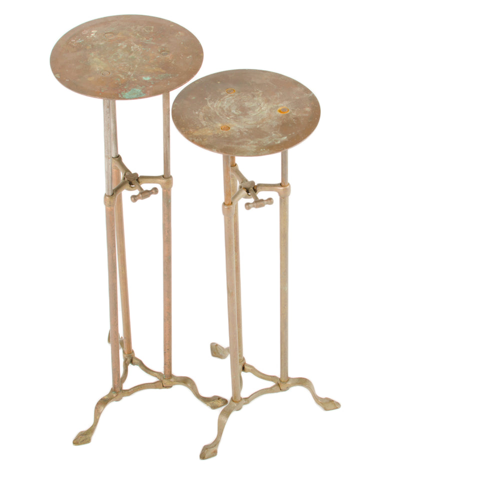 Brass Side Table Stands