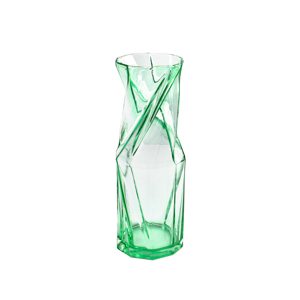 """twist"" VASE LIGHT GREEN - SMALL"