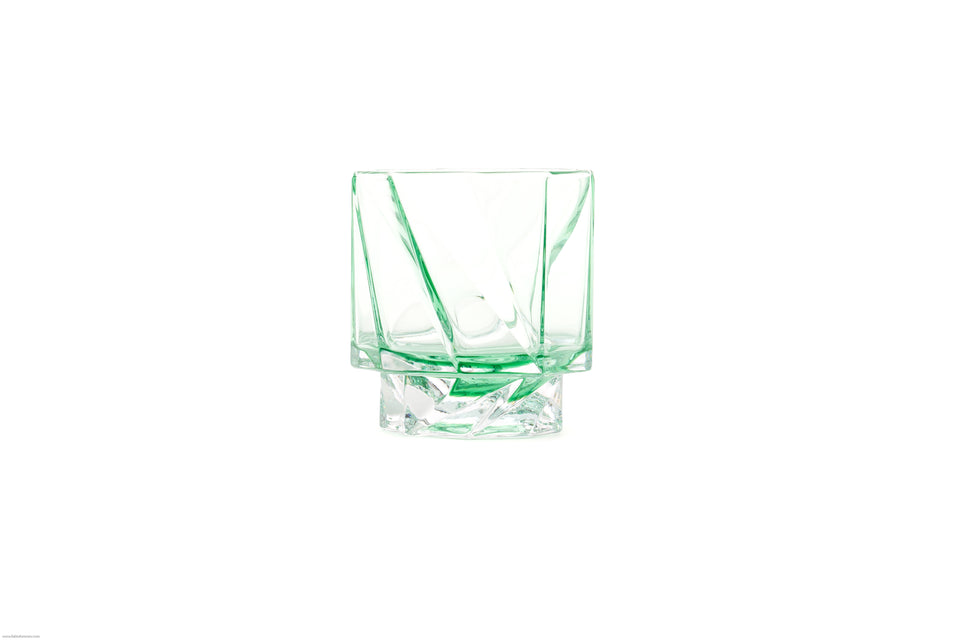 """ghost"" TUMBLER LIGHT GREEN - PAIR"