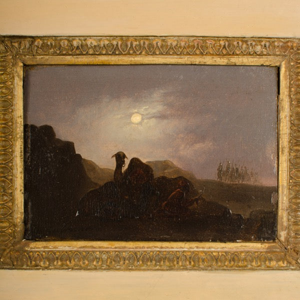 Camel in Full Moon by Johann Mongels Culverhouse