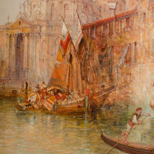 Venice in July by Alfred Pollentine
