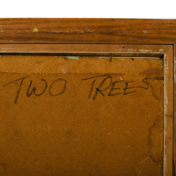 """Two Trees"" by Hans Kline"
