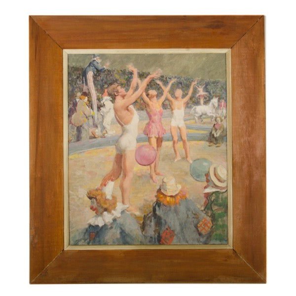 Gymnasts in Circus by Edmund F Ward